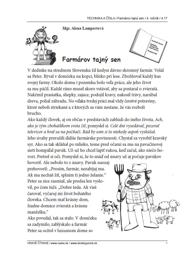 Farmárov tajný sen
