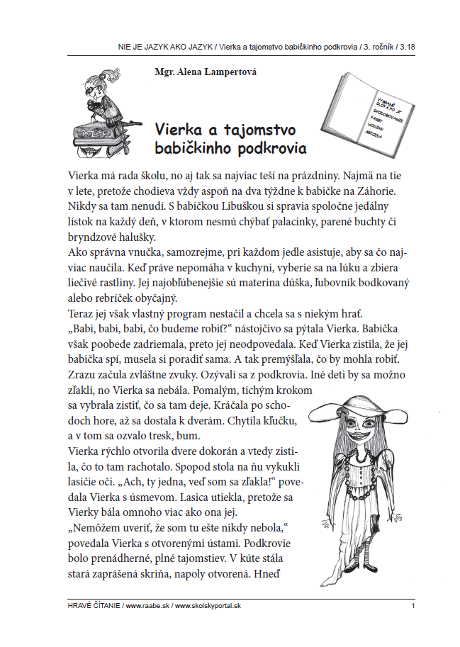 Vierka a tajomstvo babičkinho podkrovi