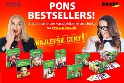 Zásobte sa novými jazykovými knihami a slovníkmi