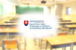 Ministerstvo školstva, vedy, výskumu a športu SR