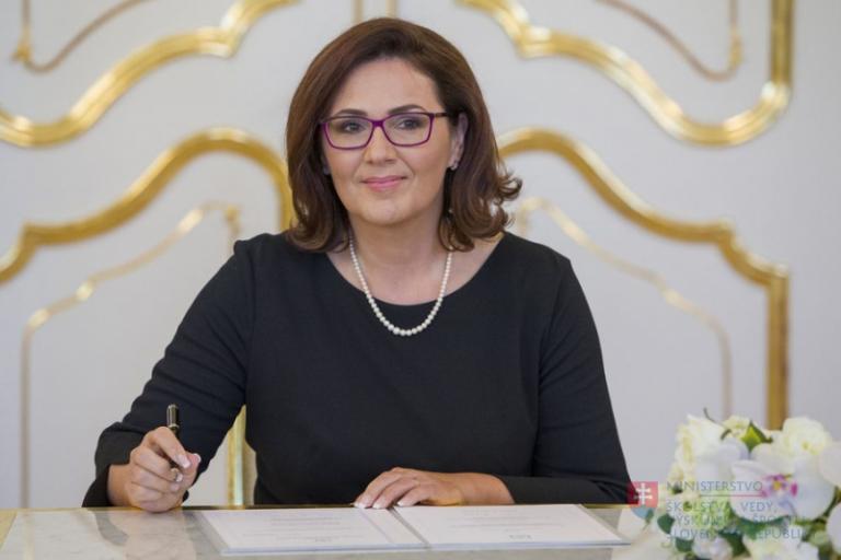 Nová ministerka školstva Martina Lubyová